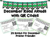 December Read Aloud QR Codes - December Listen to Reading Center
