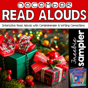 December Read Alouds: Interactive Read Aloud Freebie Sampl