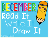 December Read and Writes {Fluency Passages and Writing Prompts}