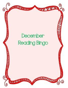 December Reading Bingo