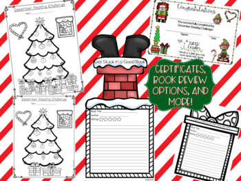 December Reading Challenge-Christmas Tree Themed Challenge and Resources