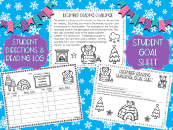 December Reading Challenge-Polar Bear Themed Challenge and Resources