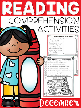 December Reading Comprehension Activities