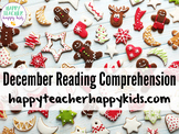 December Reading Comprehension Activities: Hanukkah, Kwanz