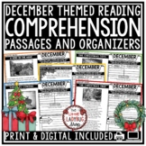 December Reading Comprehension Passages 4th Grade, 3rd Grade Reading Passages