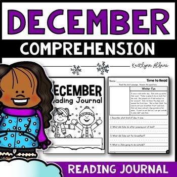 December Reading Comprehension Passages - Journal