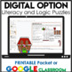 December Literacy Centers | Logic Puzzles | Writing Prompts