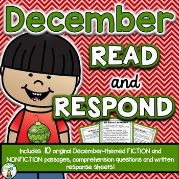 December Reading Comprehension & Written Response