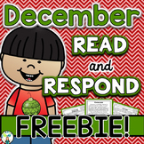December Reading Comprehension & Written Response FREEBIE {Kwanzaa}