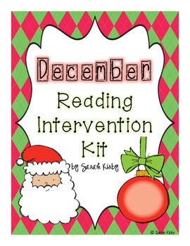 December Reading Intervention Kit
