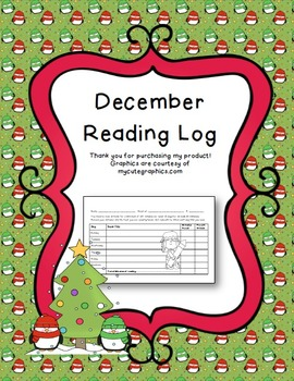 December Reading Log