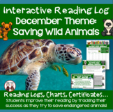 December Reading Log (Saving Wild Animals)