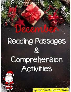December Reading Passages (Common Core Aligned)
