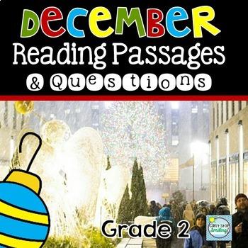 December Nonfiction Reading Passages ~ Christmas Reading Passages