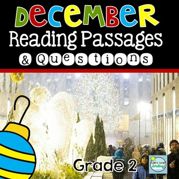 December Nonfiction Reading Passages ~ Christmas Reading Passages