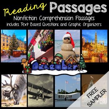 December Reading Passages - Freebie Sampler (St. Lucia Day)