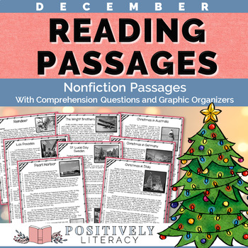 #2forTuesday December Reading Passages - Nonfiction Text