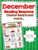 December Reading Response Choice Board