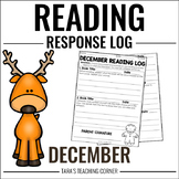 December Reading Response Log (Fiction and Nonfiction)