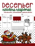 December Reading Response Pages