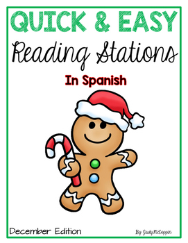December Reading Stations in *Spanish*