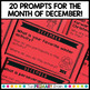 December Reflection Prompt Cards