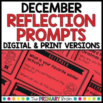 December Reflection Prompt Cards