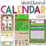 December SMARTBoard Calendar ***Common Core Aligned*** First Grade