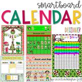 December SMARTBoard Calendar Morning Meeting First Grade