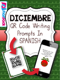 December SPANISH QR Code Writing Prompts