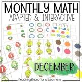 December Math Adapted Binder