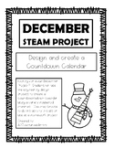 December STEAM Calendar Project