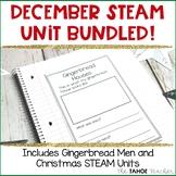 December Science Unit Bundled!   STEAM Centers for Primary Grades