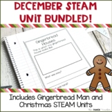 December Science Unit Bundled! | STEAM Centers for Primary Grades