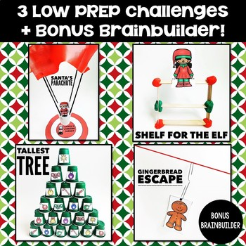 Christmas Stem Challenges.Christmas Stem Activities Thecannonball Org