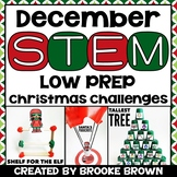 Christmas STEM Challenges (December)