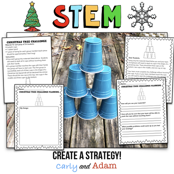 December STEM Activity: Christmas Tree Challenge by Carly and Adam