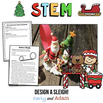 December STEM Activity: Santa's Sleigh