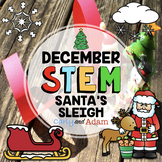 Santa's Sleigh December Christmas STEM Activity