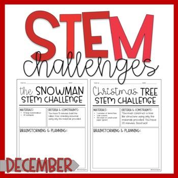 December / STEM Challenges