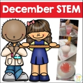 December STEM 13 Challenges Winter Christmas Hanukkah