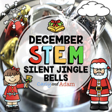 Silent Jingle Bells Christmas STEM Activity