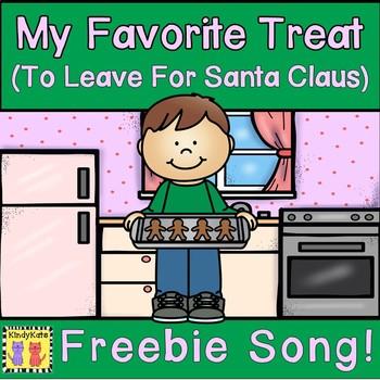 December Santa Song and No-Prep Printable