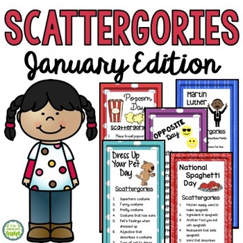 Januay Scattergories Games