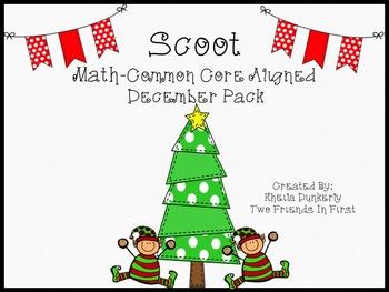 December Scoot - Math Edition