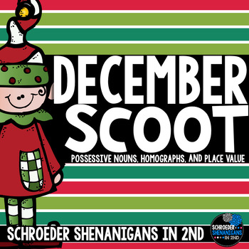December Scooting through the year - Homographs, Place Value