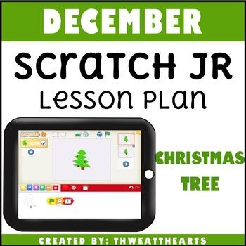 December Scratch Jr Lesson Plan - Christmas Tree