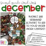 December Second Grade Literacy Centers