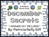 December Secrets (Patricia Reilly Giff) Novel Study / Comprehension  (24 pages)