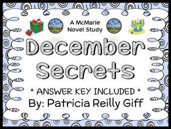 December Secrets (Patricia Reilly Giff) Novel Study / Comp